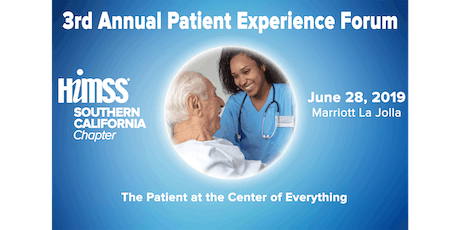 3rd Annual Patient Experience Forum entradas
