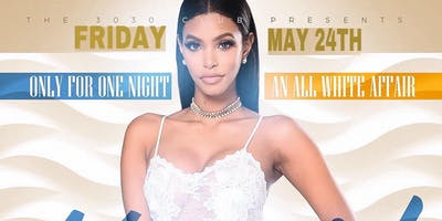 30/30 Club Only For One Night All White Affair