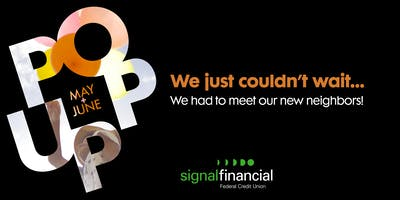 The Signal Financial Pop-Up