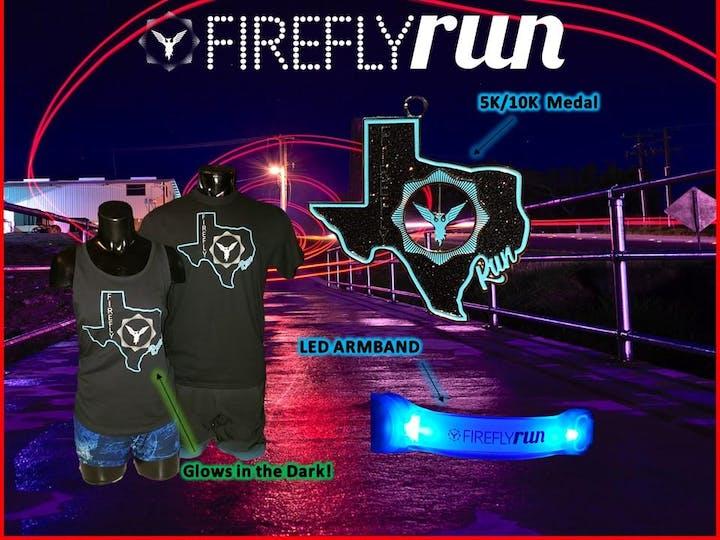 Firefly Run 5K/10K Night Run -Houston, TX