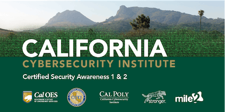 C)SA1&2 — Certified Security Awareness 1 & 2 /OnSite tickets