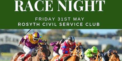 Race Night in Aid of Scottish Veterans Residences