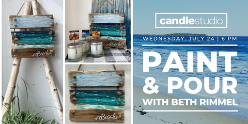 Paint & Pour With Beth Rimmel