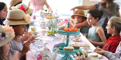 Girls Etiquette Tea Party