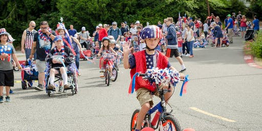 Gig Harbor's 2nd Annual 4th of July Patriotic Kids Parade