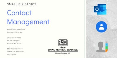 Small Biz Basics - Contact Management:  May 22