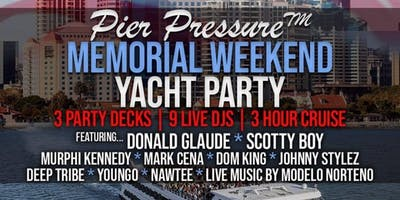 Memorial Day Weekend Yacht Party!