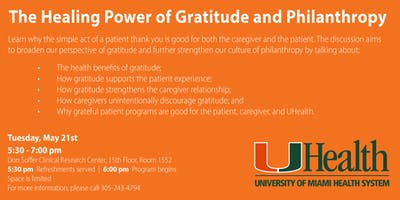 The Healing Power of Gratitude and Philanthropy
