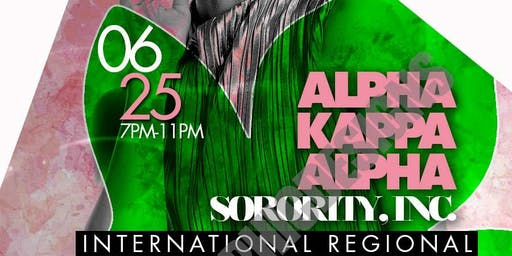 AKA International Regional Conference Mixer