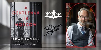 Author Event - Amor Towles