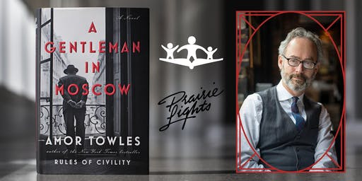 RESCHEDULED: Author Event - Amor Towles