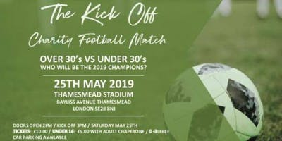 TheTab Presents The Kick Off Over 30s vs Under 30