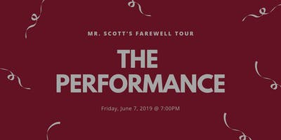 Mark Scott's Farewell Tour: The Performance!