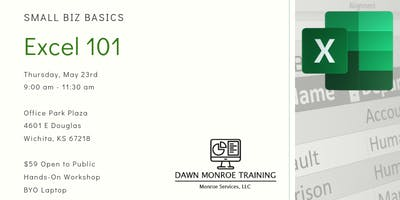 Small Biz Basics - Excel 101:  May 23