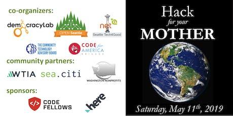 DemocracyLab, Open Seattle, Seattle Tech4Good, AIGA Seattle, Seattle