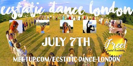 Ecstatic Dance London presents: Outdoor Silent Disco tickets