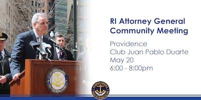 Reunion en la Comunidad | Oficina de el Fiscal General