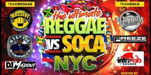 The Ultimate Reggae Vs Soca Yacht Party