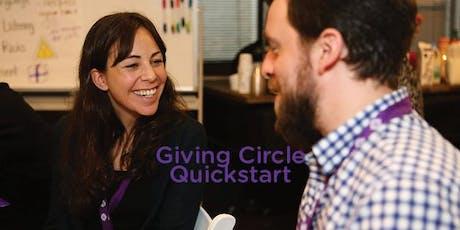 Giving Circle Quickstart tickets