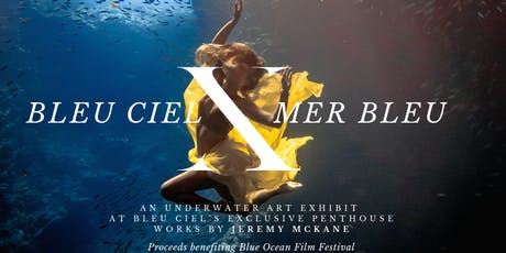 BLEU CIEL X MER BLEU: An underwater art performance at exclusive penthouse tickets