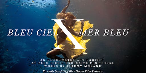 BLEU CIEL X MER BLEU: An underwater art performance at exclusive penthouse