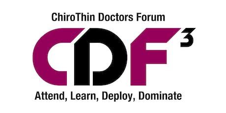 2019 ChiroThin Forum - Clearwater Beach tickets
