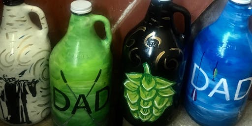 Growler Painting Father's Day Workshop