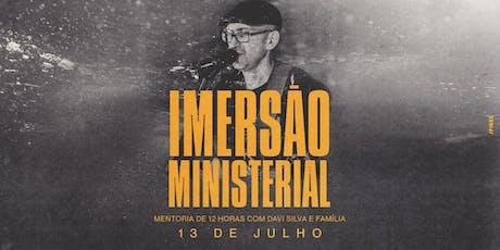 Imersão Ministerial - Duque de Caxias/RJ ingressos