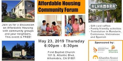 Affordable Housing Community Forum