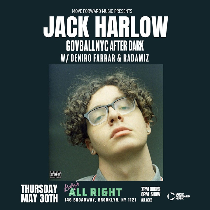 Gov Ball After Dark: Jack Harlow image