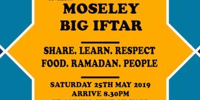 Moseley big iftar - free communal meal