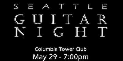 Seattle Guitar Night at the Columbia Tower Club