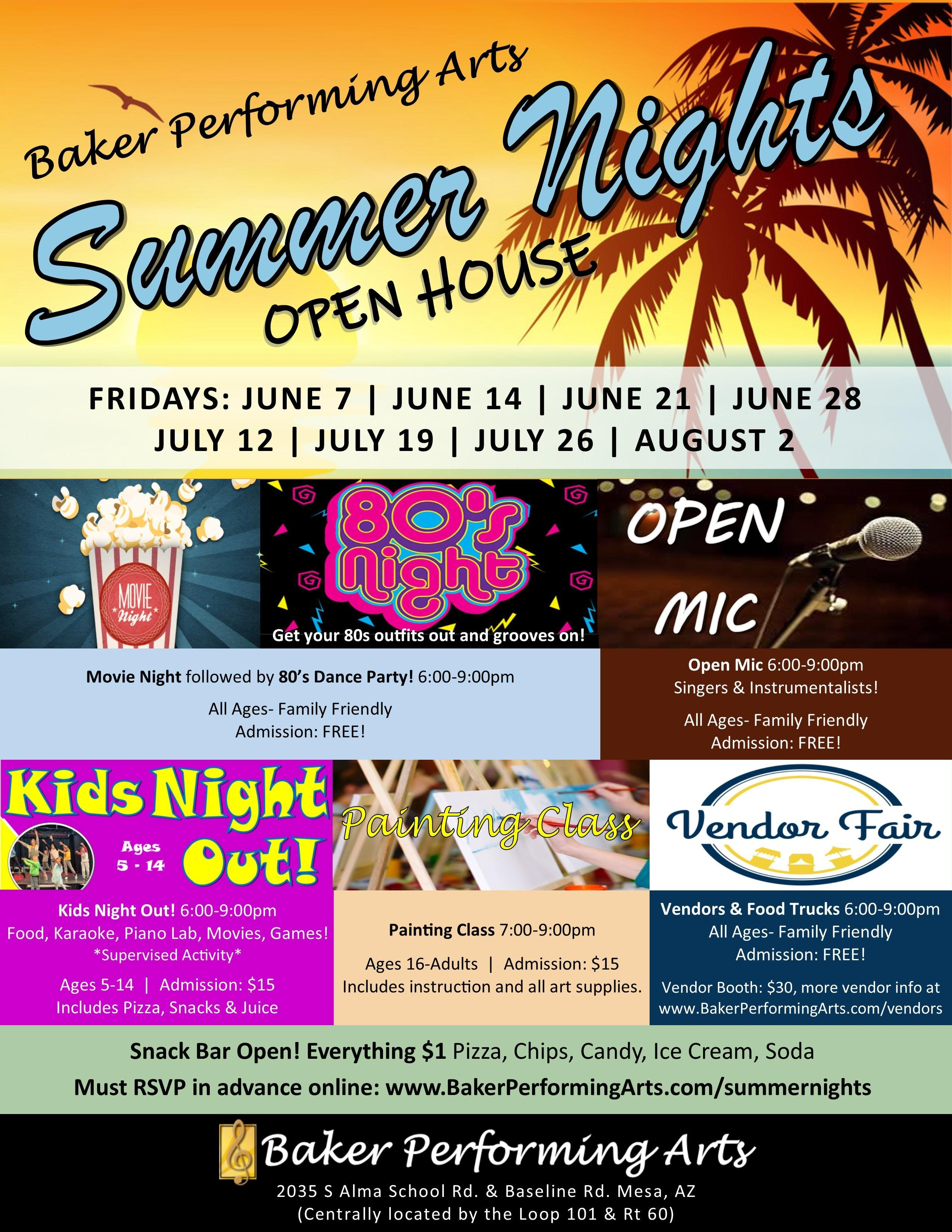 Summer Nights Open House! Friday, June 7th