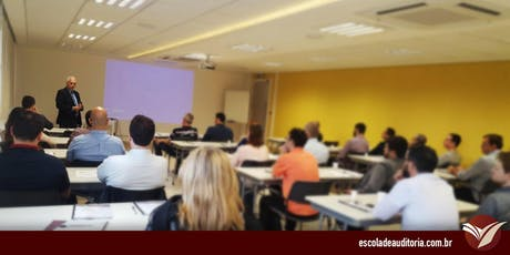 Curso de Controle Interno e Análise de Risco na Gestão de Processos - Brasília, DF - 23 e 24/out bilhetes