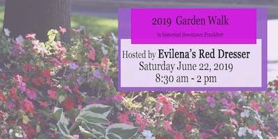 2019 Annual Garden Walk - Hosted by Evilenas Red Dresser