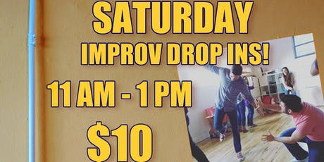 Saturday Improv Drop In tickets