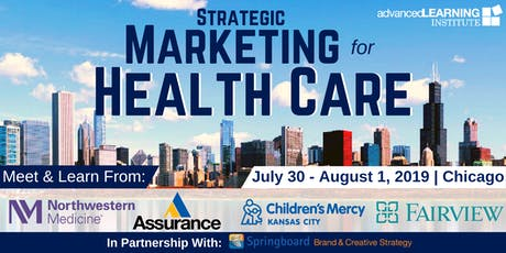 Strategic Marketing for Health Care tickets