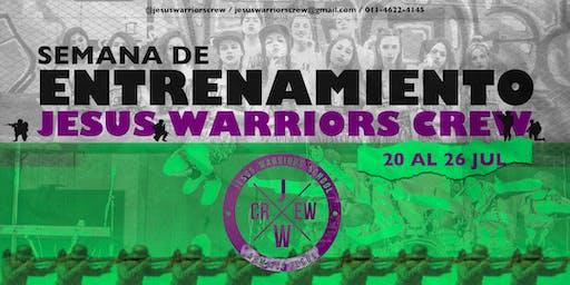 Semana de Entrenamiento Evangelismo Urbano Jesus Warriors