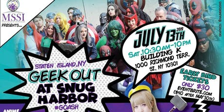 Geek Out at Snug Harbor tickets