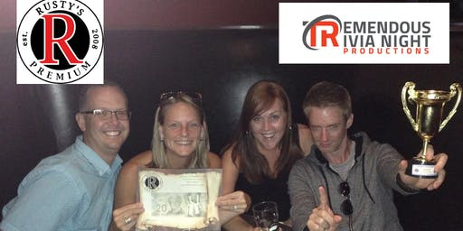 Wednesday Night Trivia at Rusty's Sports Lounge!
