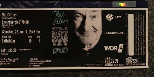 Top Sitzplätze für Phil Collins live in Köln