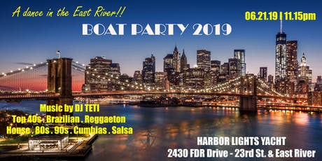 BOAT PARTY 2019 in NYC entradas