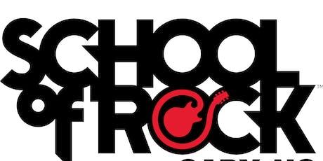 School of Rock Cary Performs The Black Keys, Linkin Park, Nirvana & more! tickets