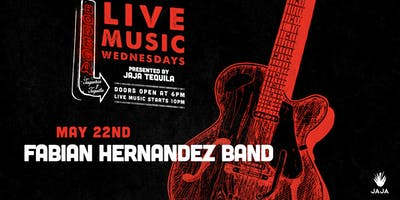 Live Music by Fabian Hernandez Band at Bodega Taqueria y Tequila