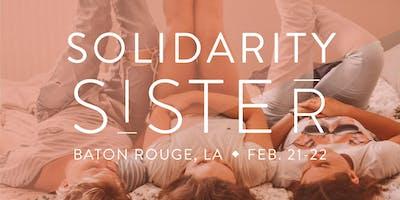 Solidarity, Sister 2020