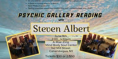 Steven Albert: Psychic Medium Gallery Event- 6/9 Canandaigua