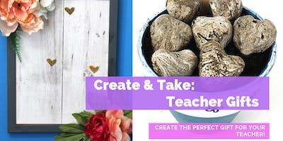 Family Fun Create & Take - Teacher Gifts!