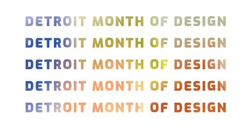 Detroit Month of Design 2019