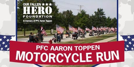 5th annual PFC Aaron Toppen Motorcycle Run tickets