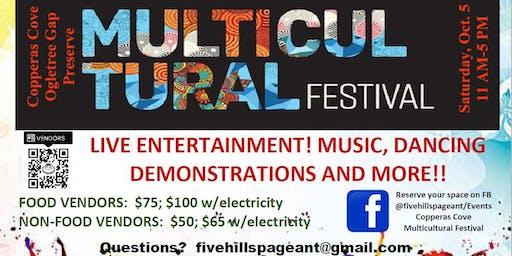 Copperas Cove Multicultural Festival--VENDOR REGISTRATION PAYMENT